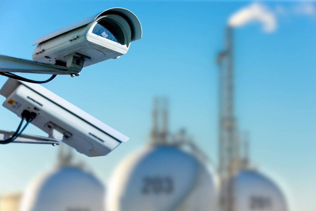 where to place the security cameras