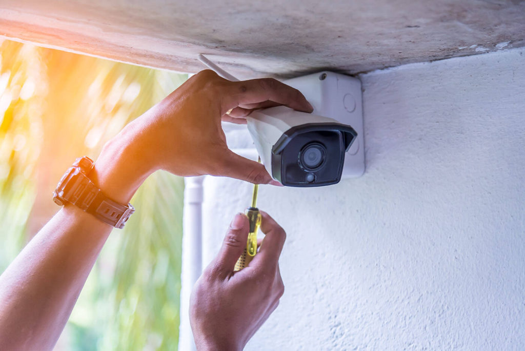 How to supply a wireless security system with solar energy