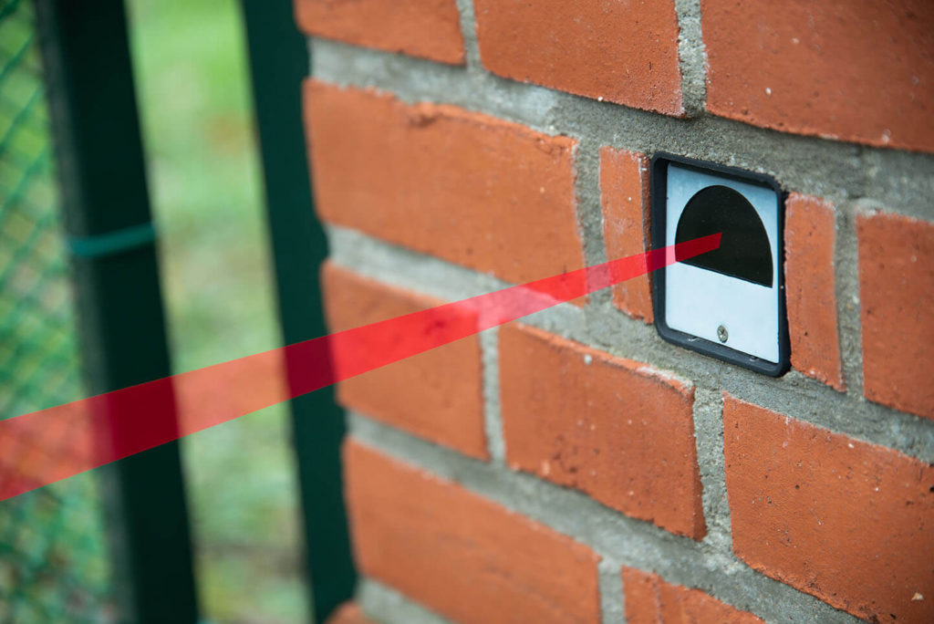 Difference between motion sensor and infrared barrier